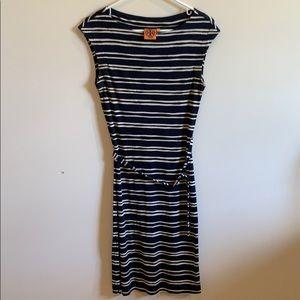 Navy & white Tory Burch dress